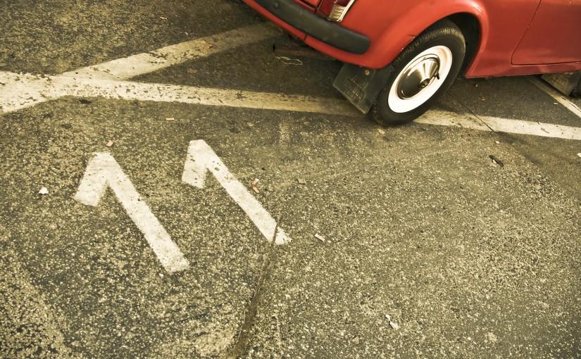 Szkoda na parkingu strzeżonym