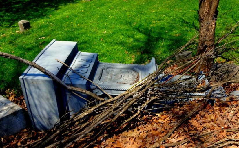 Wypadek na cmentarzu a odszkodowanie